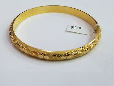 Aygul D 416 Very Unique Rare 22k Yellow Gold Bracelet Nice Design