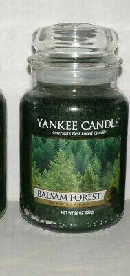 Yankee Candle Balsam Forest Large Jar Candles Nwts