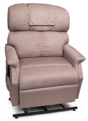 Golden Comforter Wide Electric Recliner Power Lift Chair W/ Full Chaise Small