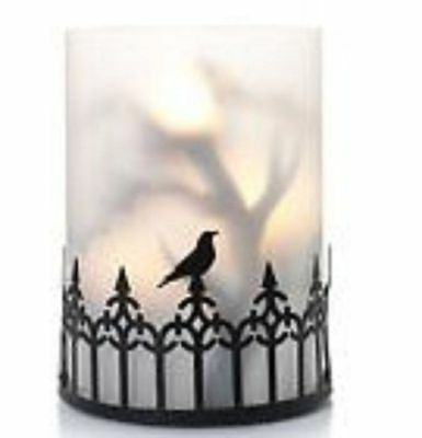 Yankee Candle Foggy Nights Multi Tea Light Candle Holder Nwts Rare Vhtf