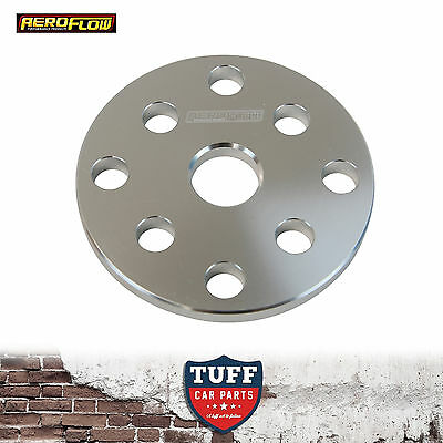 """Aeroflow Gilmer Pulley Water Pump Spacer 6mm 1/4"""" For Small Block Chev 327 350"""