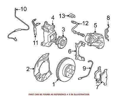 For Bmw Genuine Disc Brake Caliper Front Right 34112283162