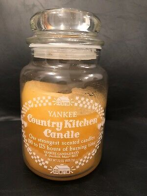 Rare Vintage (1980's) Yankee Candle Country Kitchen