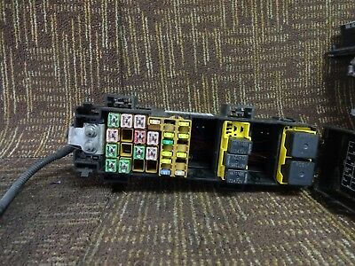 06 2006 Jeep Commander Fuse Box Relay Junction Block Compartment Oem 56050736ad