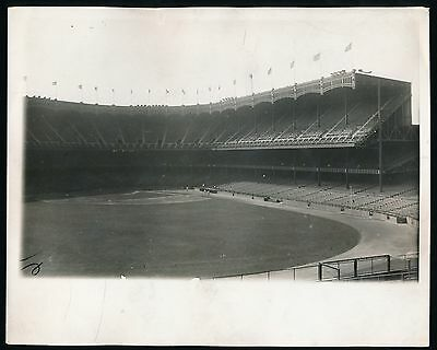 1927 (dated) Yankee Stadium Panoramic View On Eve Of Famous World Series -type 1