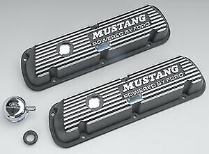 Fits Ford Racing M6582b301 Valve Cover Mustang For 289/302/351w Engine, Black W