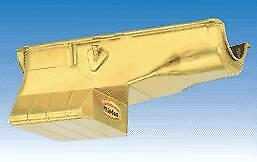 Milodon 30955 Steel, Gold Zinc Plated Street And Strip Oil Pan For Big Block Ch