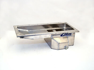 Canton Racing Products 13-274a Aluminum Drag Race Oil Pan 6.5 In. Qt.