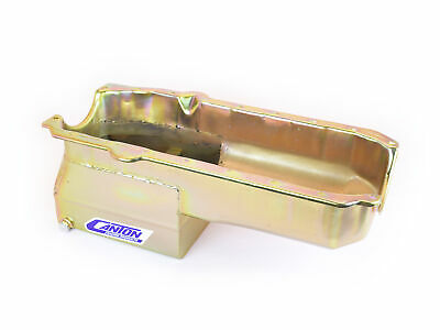 Canton Racing Products 13-080 Steel Drag Race Oil Pan 6 Quart