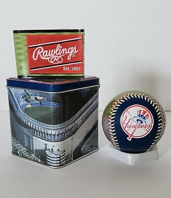 Limited Edition2003 Old Yankee  Stadiumbaseball With Tin Can, Extremelyrare