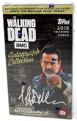 2018 Topps The Walking Dead Autograph Collection Hobby 20 Box Case Blowout Cards