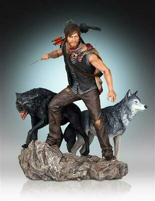 The Walking Dead - Daryl & The Wolves Statue - Gentle Giant Studios Free Shippin