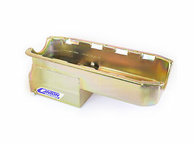 Canton Racing Products 13-082 Steel Drag Race Oil Pan 6 Quart
