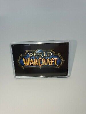 World Of Warcraft Display Logo Coverwith Support Stand Fridge Magnet