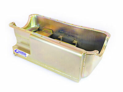 Canton Racing Products 13-766 Steel Drag Race Rear Sump Oil Pan 9 Qt.