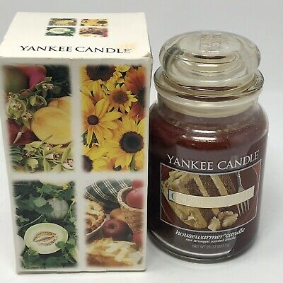 New Yankee Candle Gingerbread Maple Fragranced 22 Oz. Large Scent Rare Htf!!