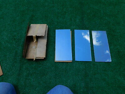 Nos Yankee Mirror Glass For West Coast And Yankee Jr. Mirrors 3 Pieces