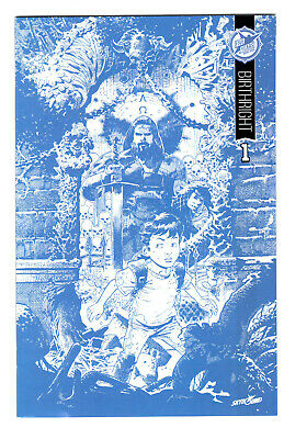 Birthright #1 Skybound 5th Anniversary Sdcc Blue Line Variant (vf) Blueline