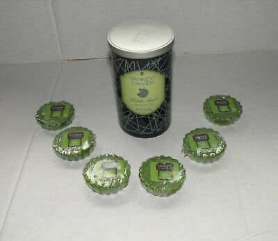 Yankee Candle Halloween Forbidden Apple Limited Edition Pillar Jar Candle