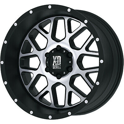 4- 20x10 Black Machined Xd820 6x5.5 -24 Wheels Open Country Mt 35 Tires
