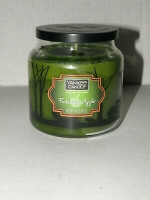 Yankee Candle Halloween Forbidden Apple Limited Edition Medium Jar Candle Nwts
