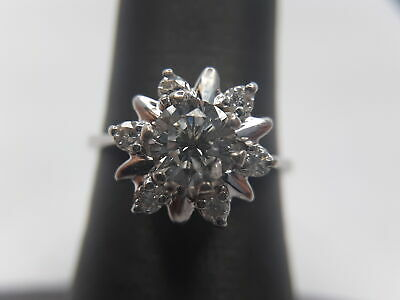 Very Unique!!! Diamond Flower Ring!!!