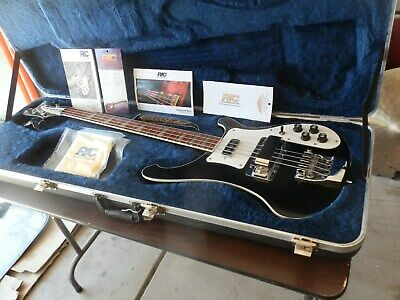 1999 Rickenbacker 4003 Jetglo Bass Guitar Rick 0 Sound W/all Paper @ Ricky Case