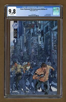 Clone #1 Skybound Fifth Anniversary Edition Variant Cgc 9.8 2015 1337316012