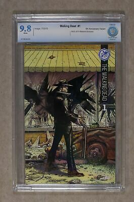 Walking Dead #1 Skybound 5th Ann Sdcc Variant Cbcs 9.8 2015