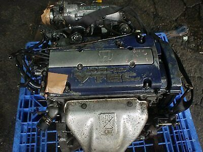Jdm Honda Prelude 97-01 H23a H22a Bb4 Cd6 Cl1 Sir Dohc Vtec Engine Motor