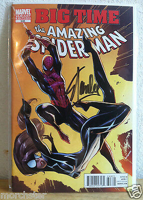 Amazing Spider-man 648 Rare Color Variant J Scott Campbell Cover Signed Stan Lee