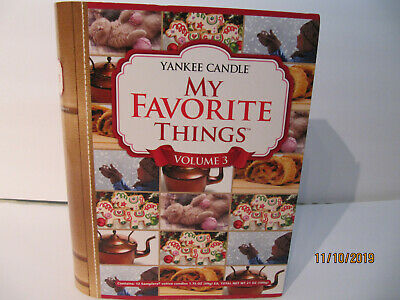 Yankee Candle My Favorite Things Volume 3 Votive 12 Candles Sampler Book