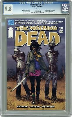 Walking Dead #19 Cgc 9.8 2005 1136100007 1st App. Michonne