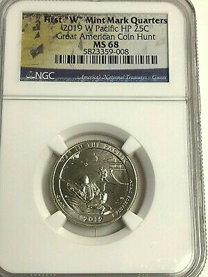 2019-w Guam Pacific War Np Quarter West Point, Ngc **ms-68** Top Pop, Wow!