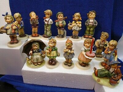 Hummel - Lot Of 14 Exclusive Edition: Birthday Hello World Daisies Visitor Smili