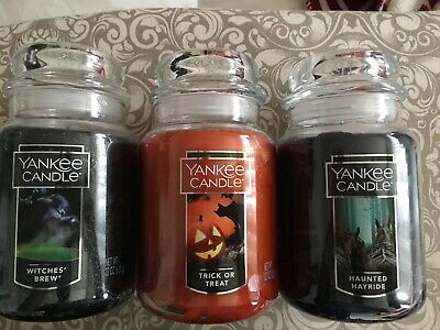 Yankee Candle Witches Brew. Trick Or Treat, Haunted Hayride  Discontinued Scents