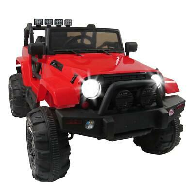 Kids Ride On Car Remote Control With 12v Battery Powered Electric Car Led Lights