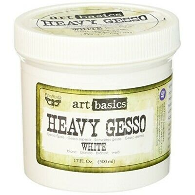 Prima Marketing Finnabair Art Basics Heavy Gesso 17 Oz-white - Ozwhite
