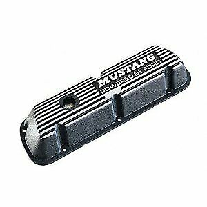 Fits Ford Racing M-6582-b Valve Cover Mustang For 289/302/351w Engine, Black Wi