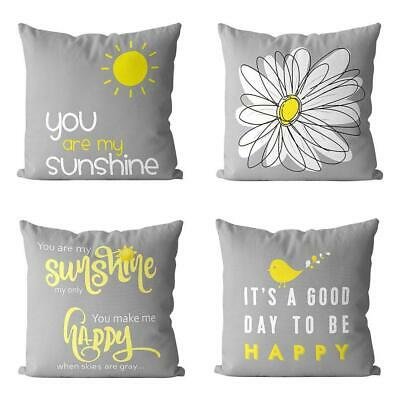 Pack Of 4 Muilee Decoretive Cute Throw Pillow 18