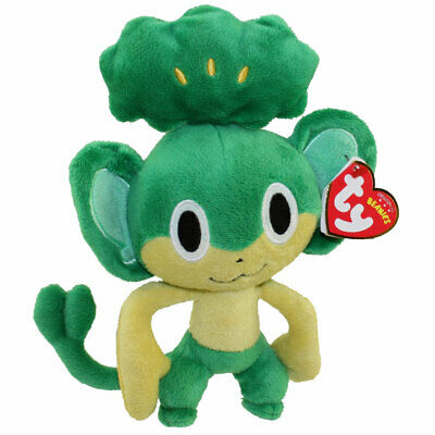 TY Beanie Baby - PANSAGE (Pokemon Black & White - UK Excl.) (8 inch) - MWMTs