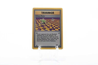 WARP POINT Pokemon Card - Gym Challenge 126/132 - Common - Mint/Near Mint