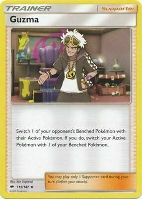 Pokemon Burning Shadows Guzma 115/147