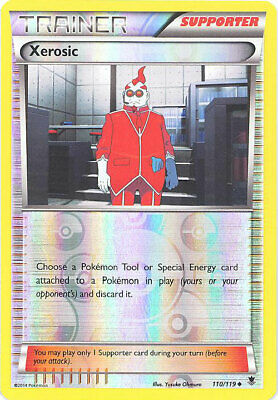 Pokemon Card - XY Phantom Forces 110/119 - XEROSIC (reverse holo) - NM/Mint