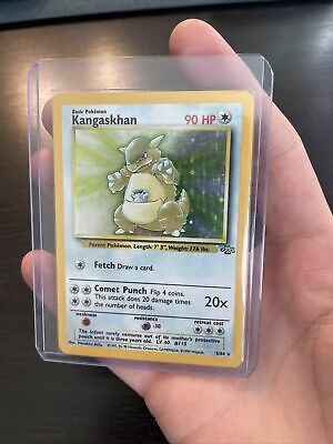 Kangaskhan 5/64 Jungle Set Holo Rare Vintage WOTC Pokemon TCG