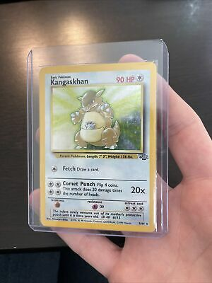 Kangaskhan 5/64 Jungle Set Holo Rare Vintage WOTC Pokemon TCG Card