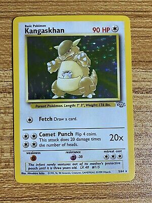 Kangaskhan 5/64 holo jungle Pokemon card unlimited