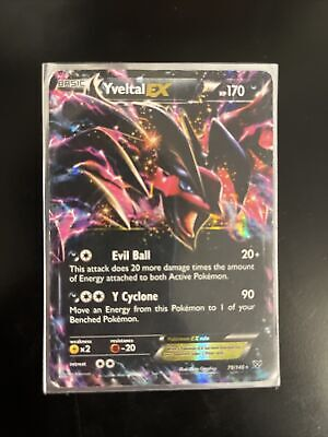 Yveltal EX Ultra Rare NM XY Base Set 79/146 Pokemon TCG