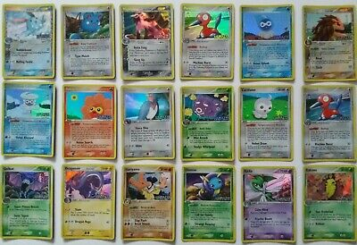 /113 Ex Delta Species & Holo Rev Holo Rare Com Uncom Pokemon Card Nr Mint- Mint