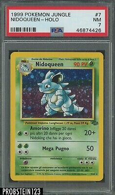 1999 Pokemon Jungle #7 Nidoqueen - Holo PSA 7 NM